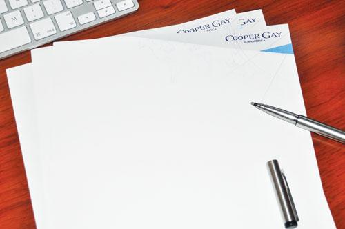 Calidad papelería comercial
