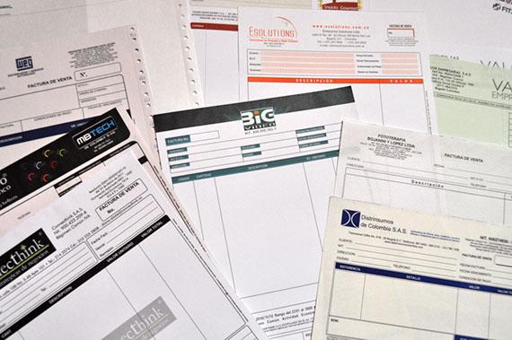 Formatos y facturas