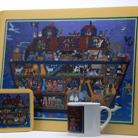 Individuales, portavasos y mugs